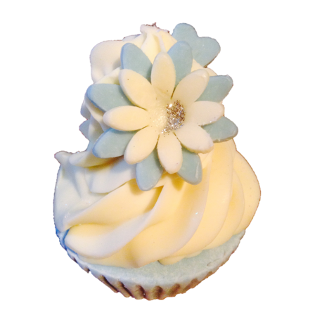 Tiffany Blue Fairy cake Soap 130g