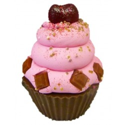 Chocolate Cherry Fairy cake Soap 140g