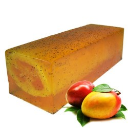 Savon Exfoliant Orange Mangue
